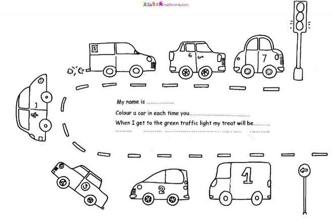 Traffic jam reward chart