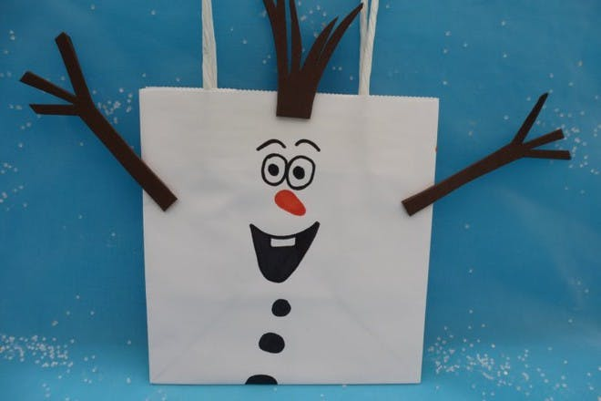 Olaf party bags