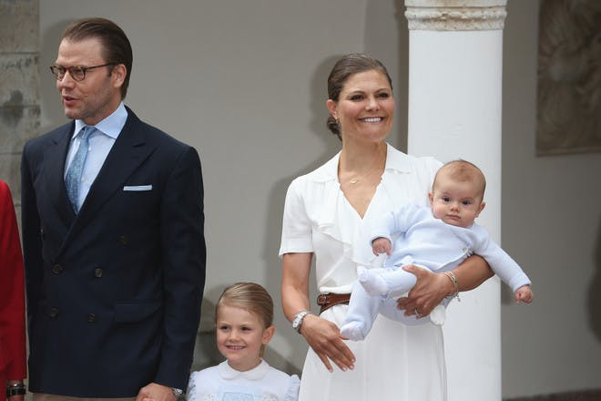 Princess Estelle and Prince Oscar of Sweden