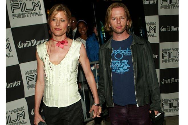 David Spade and Julie Bowen