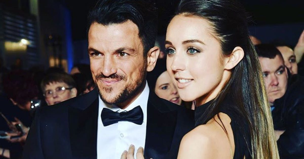 Peter Andre reveals the secret to Emily MacDonaghs post