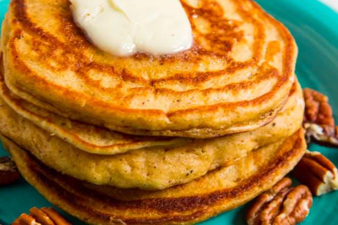 15. Sweet potato pancakes