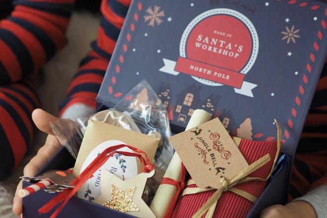 Santa's Workshop Christmas Eve box