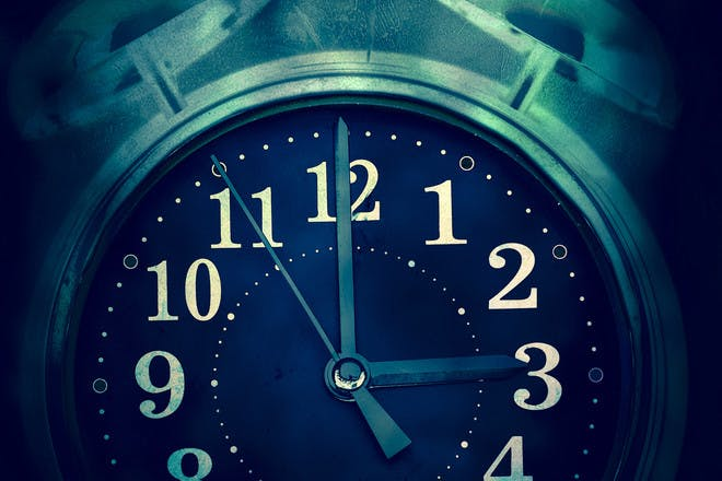 clock showing 3am