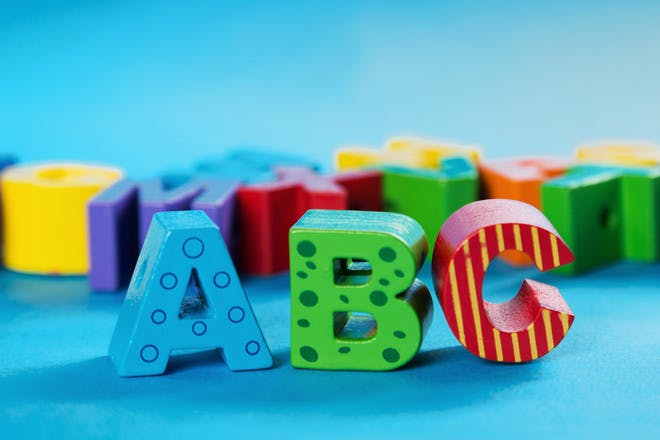 Alphabet to print off and colour in