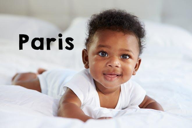 Paris baby name