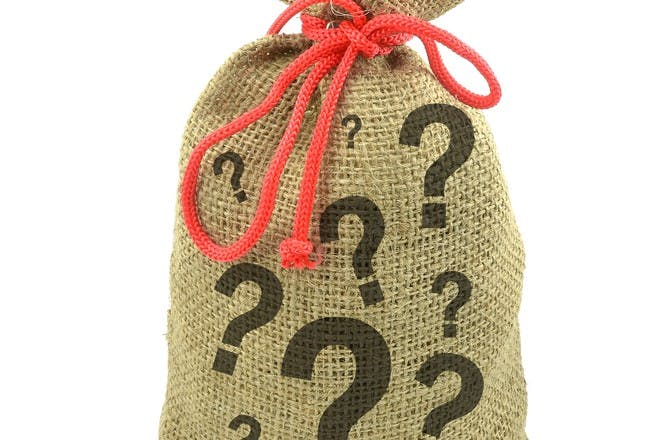 36. Play the 'mystery bag' game