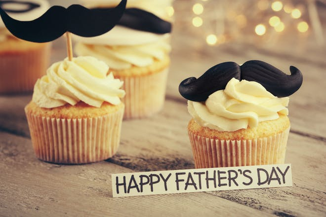 Father's Day cupcakes