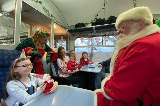 Santa's Special Trains, Epping Ongar Railway