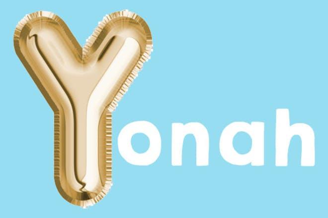 Yonah 'y' name