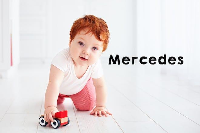 Mercedes baby name
