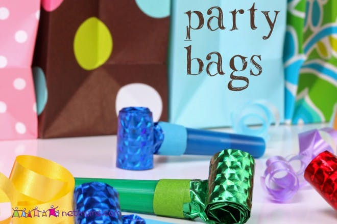 party noise makers and party bags