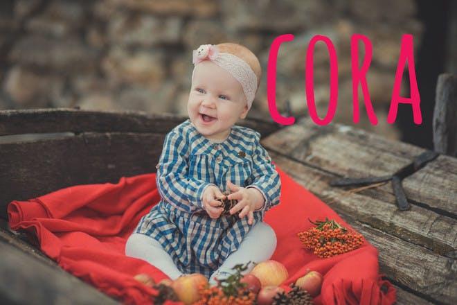 Baby name Cora