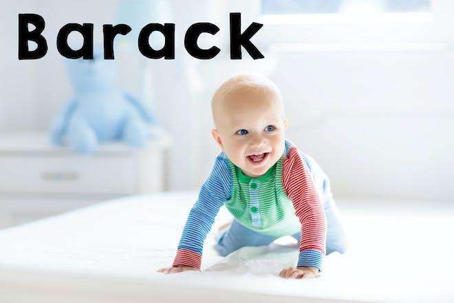 Barack baby name