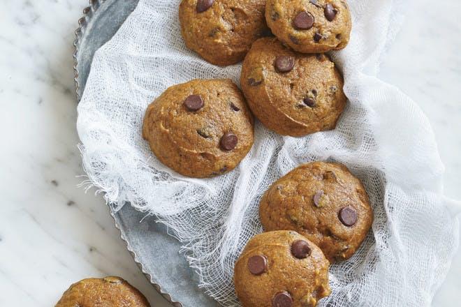 6. Pumpkin chocolate chip cookies