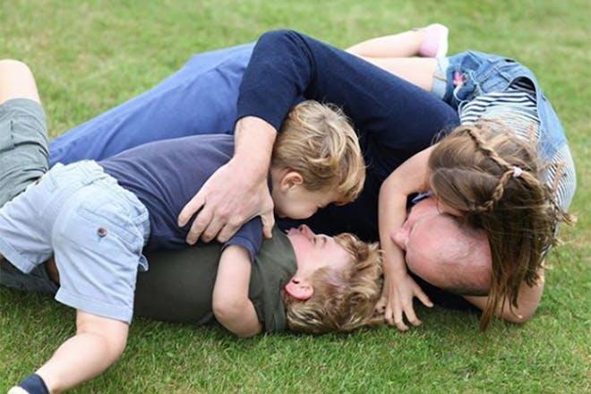 Prince William and kids