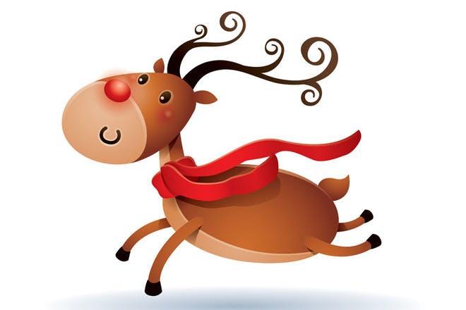 Run Run Rudolph - Christmas songs for kids