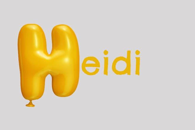 Baby name Heidi