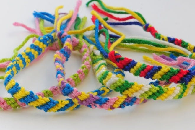 21. Braid some friendship bracelets