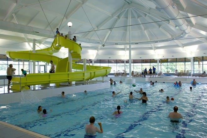 The pool at Macdonald Aviemore Resort