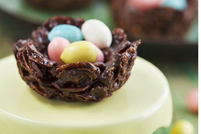 6. Tiny nest cakes