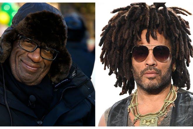 29. Al Roker and Lenny Kravitz