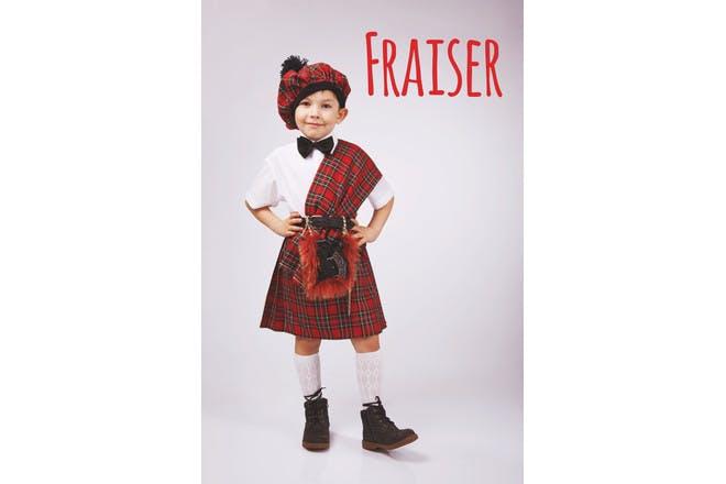 Fraiser Scottish name