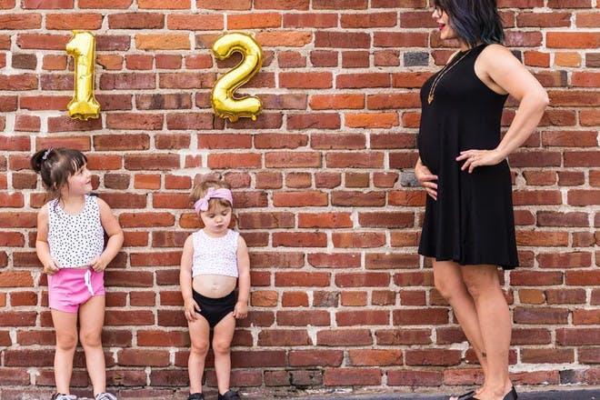 Courtney Woods pregnancy announcement