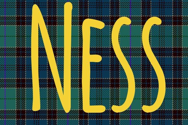 Ness Scottish name