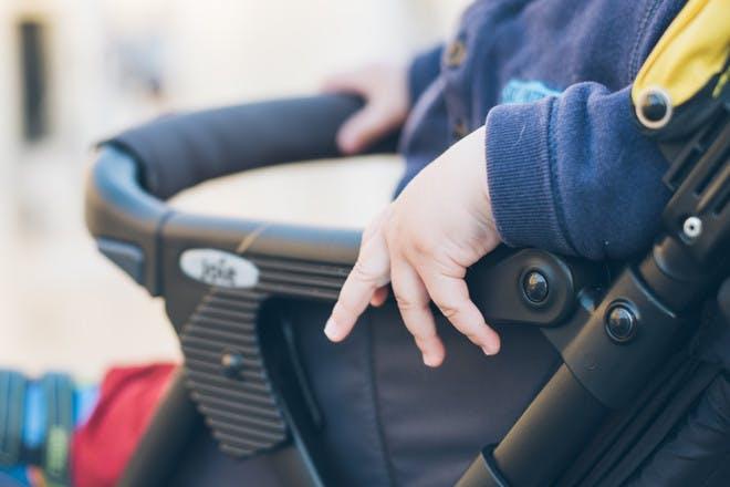 8. Take a buggy … and a bike lock