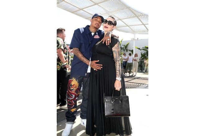 56. Amber Rose and Alexander Edwards