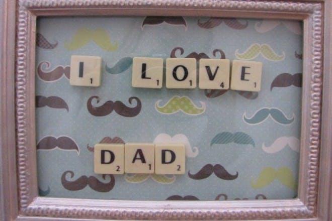 Scrabble letter picture