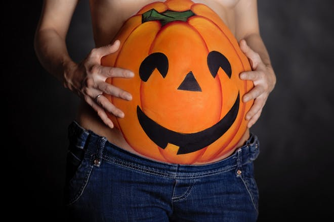 Clever Halloween costume ideas for mums-to-be