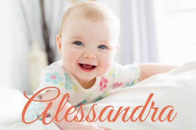 1. Alessandra