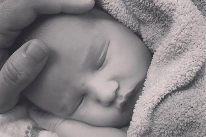 Alanis Morisette baby