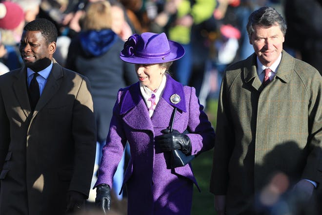 9. Princess Anne and Timothy Laurence