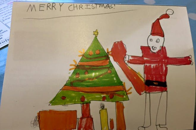 Hilariously inappropriate kids' Christmas drawings