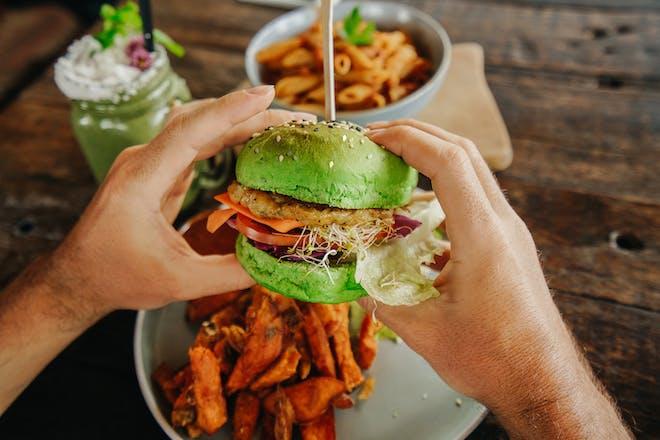 Vegan fast food