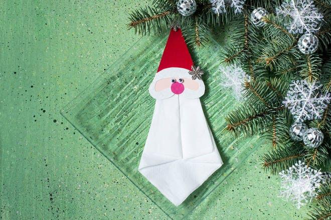 Santa paper craft