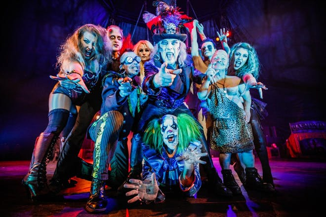 Circus of Horrors, The Globe, Blackpool Pleasure Beach