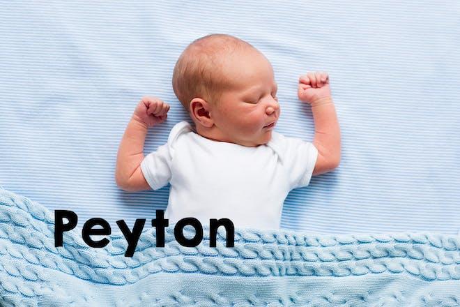Peyton baby name
