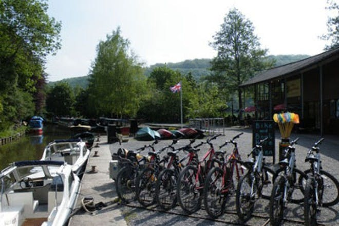 Canal visitor centre and cycle hire