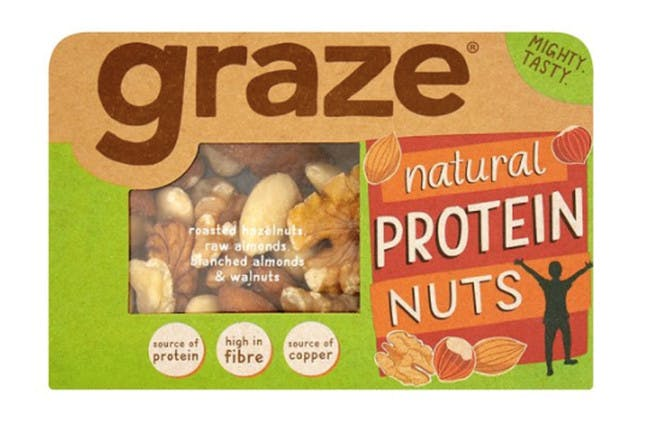 99. Graze Natural Energy Nuts