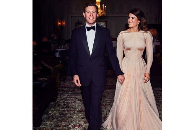 Princess Eugenie – the reception dress