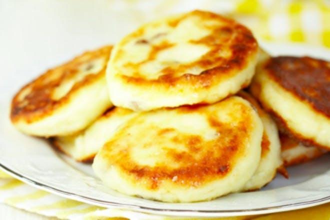 13. Mini cheesy sweetcorn pancakes
