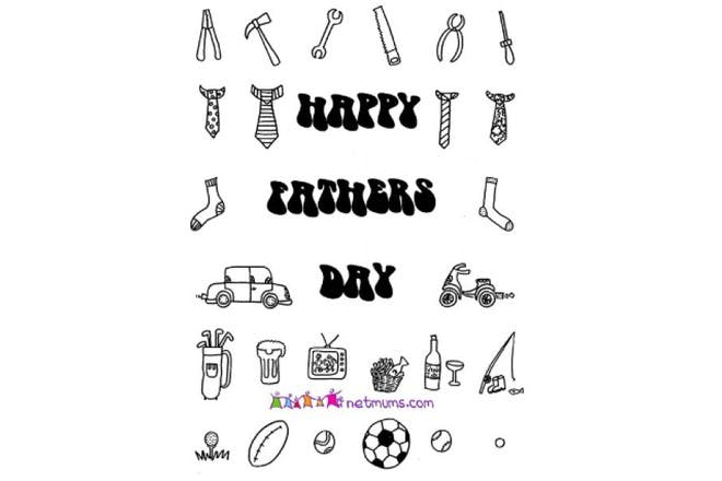 Happy Father's Day - dad's things