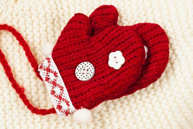 button mittens