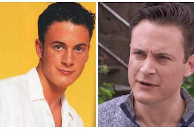 Gary Lucy then and now