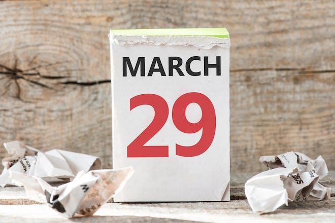 29 march calendar