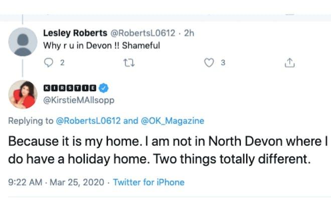 Tweets from Kirstie Allsopp